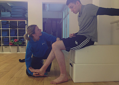 One on one neurologial physiotherapy treatment in Oxfordshire